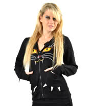 Poizen Industries Cat Hoodie (Black)