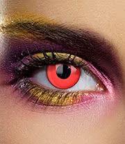 Edit Daily Blood Coloured Contact Lenses (Red)