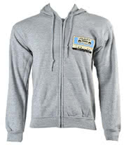 You Me At Six Cassette Hoodie (Grey)