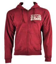 Enter Shikari Crowd Surf Hoodie (Red)