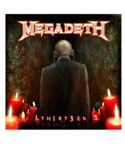 Megadeth Thirt3en CD