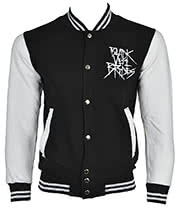 Black Veil Brides Rebels Varsity Jacket (Black/White)