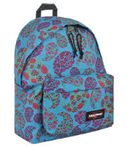 Eastpak Padded Pak'r Paisley Blossom Backpack (Blue)