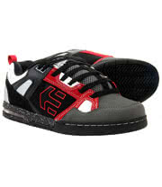 Etnies Metal Mulisha Kontra Trainers (Black/Red)