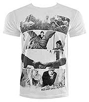 Red Hot Chili Peppers Spliced T Shirt (White)