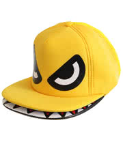 Blue Banana Monsta Munch Hat (Yellow)