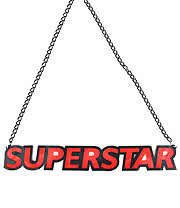 Extreme Largeness Superstar Necklace (Red)