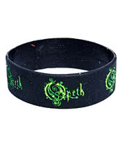 Rokk Bands Opeth Wristband (Black)