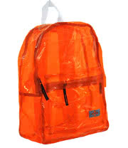 Life Spirit Clear Backpack (Orange)