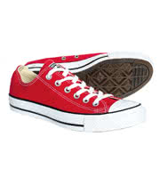 Converse All Star Ox Shoes (Red)
