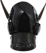 Poizen Industries CM1 Gas Mask (Black)