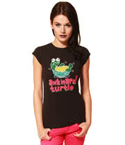 Flip Flop And Fangs Awkward Turtle X Stitch Skinny Fit