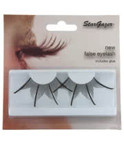 Stargazer False Eyelashes (Black/Gold)
