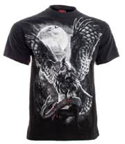 Spiral Direct Night Hunter T Shirt (Black)
