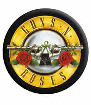 Guns N Roses Badge