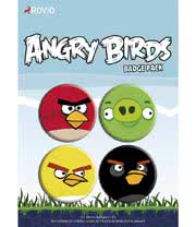 Angry Birds 4 Badge Pack
