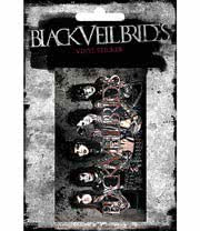 Black Veil Brides Vinyl Sticker