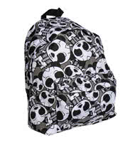 Bleeding Heart Skeleton Panda Backpa