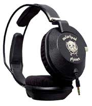 Motorhead Iron Fist Headphones (Black)