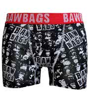 Bawbags Monkey Boxers (Black)