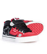 Etnies Kids Decade Trainers (Black/Red)