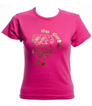 SpongeBob SquarePants So Cute Skinny T Shirt (Pink)