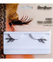 Stargazer Feather False Eyelashes (Black)