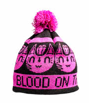 Blood On The Dance Floor Bobble Hat (Pink)