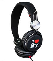 Snug I Love NY Headphones (Black)
