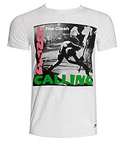 The Clash London Calling T Shirt (White)