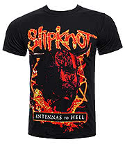 Slipknot Antennas To Hell T Shirt (Black)