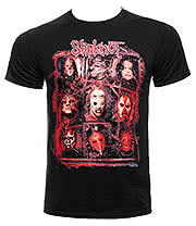 Slipknot Rusty Face T Shirt (Black)
