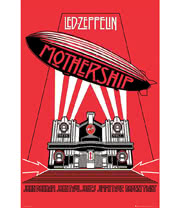 Led Zeppelin Mothership Poster