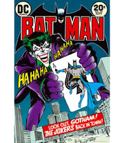 DC Comics Batman Jokers Back Poster