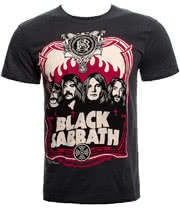 Amplified Black Sabbath T Shirt (Charcoal)