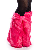 Blue Banana Rave Legwarmers (Hot Pink #7)