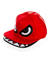 Blue Banana Monster Hat (Red)