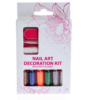 Blue Banana Mini Glitter Nail Art Decoration Kit