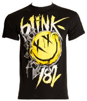 Blink 182 Big Smile T Shirt (Black)