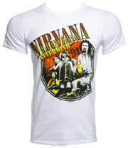 Nirvana Photo T Shirt (White)