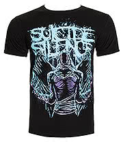 Suicide Silence Dark Angel T Shirt (Black)