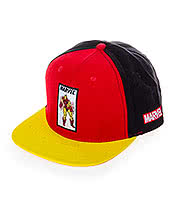 Marvel Comics Retro Iron Man Cap (Red/Yellow)