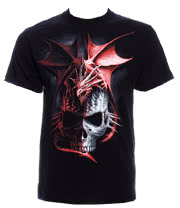 Spiral Direct Serpent Infection T Shirt (Black)