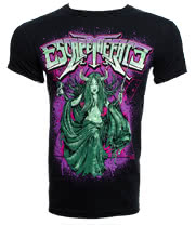 Escape The Fate Priestess T Shirt (Black)