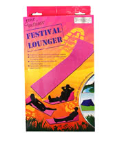 Festival Lounger (Pink)