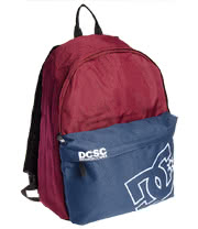 DC Colourblock Borne Backpack (Bordeaux)