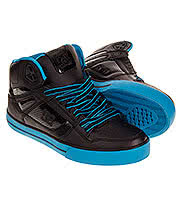 DC Shoes Spartan Hi WC Boots (Black/Turquoise)