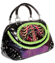 Too Fast Electric Skeleton Bag (Multi-Coloured)
