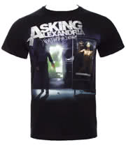 Asking Alexandria From Death To Destiny T Shirt (Black)