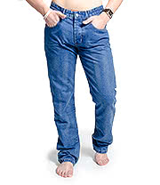 Monkee Genes Men's James Slim Jeans (Pure Blue Ska)